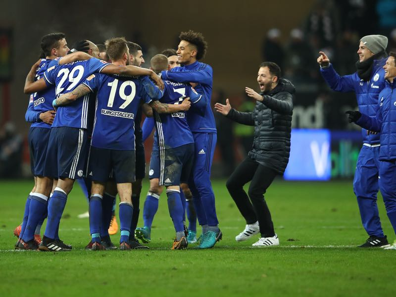 Rückrunde - Domenico Tedesco's Schalke will be one of the teams to look out for during the Rückrunde. (Photo by Alex Grimm/Bongarts/Getty Images)