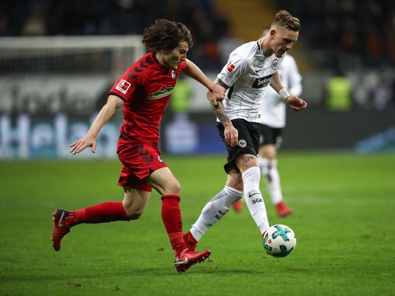 Caglar Söyüncü has quickly adapted to life in the Bundesliga. (Photo by Maja Hitij/Bongarts/Getty Images)