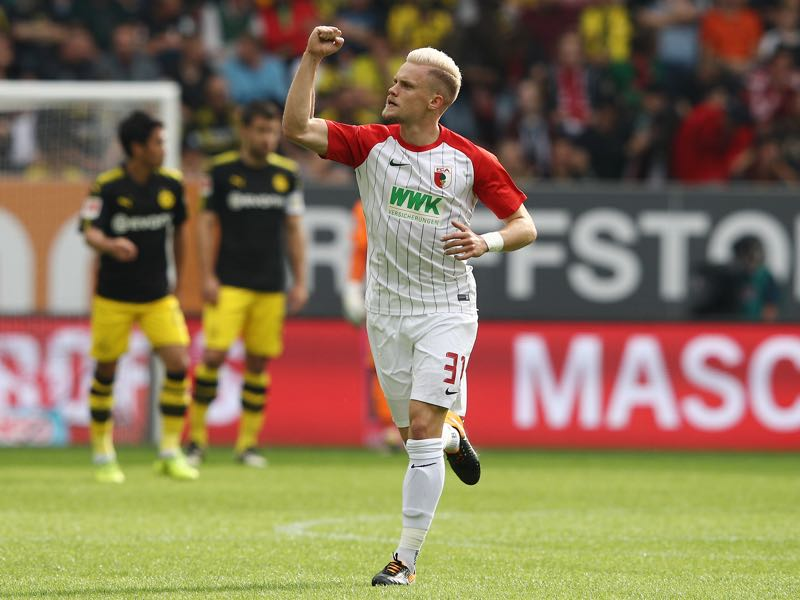 Philipp Max leads the Bundesliga with 10 assists this season. (Photo by Adam Pretty/Bongarts/Getty Images)