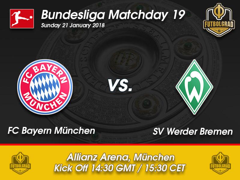 Bayern vs Werder Bremen – Bundesliga – Preview
