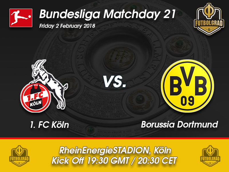 Köln vs Borussia Dortmund – Bundesliga – Preview
