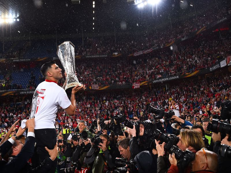 Spanish clubs like Sevilla have dominated European competitions. (Photo by David Ramos/Getty Images)