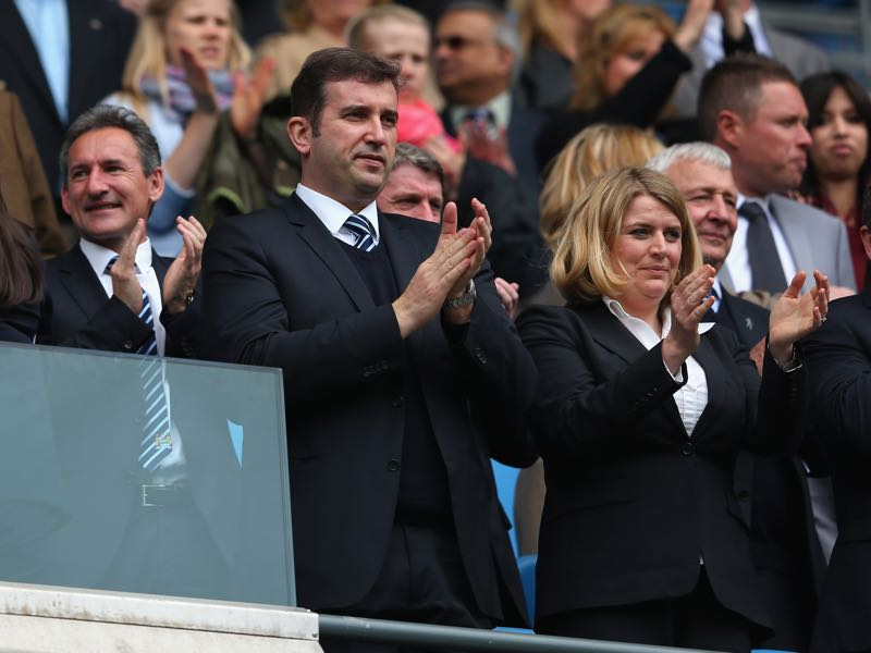 Txiki Begiristain is the Director of Football on Manchester City's board. (Photo by Alex Livesey/Getty Images)