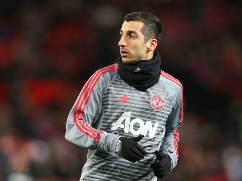 Unwanted by José Mourinho Henrikh Mkhitaryan has often been forced looking in from the outside this season. (Photo by Alex Livesey/Getty Images)