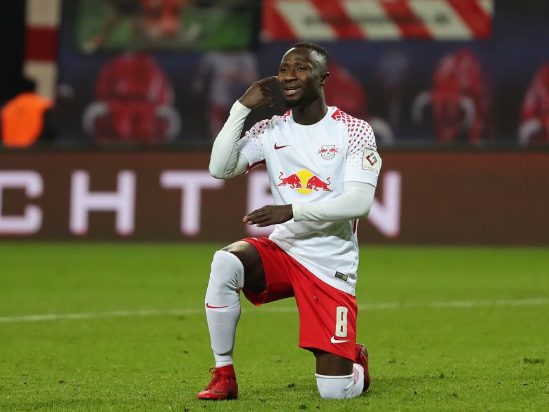 Naby Keïta will be playing his last game for RB Leipzig on Saturday. (Photo by Boris Streubel/Bongarts/Getty Images)