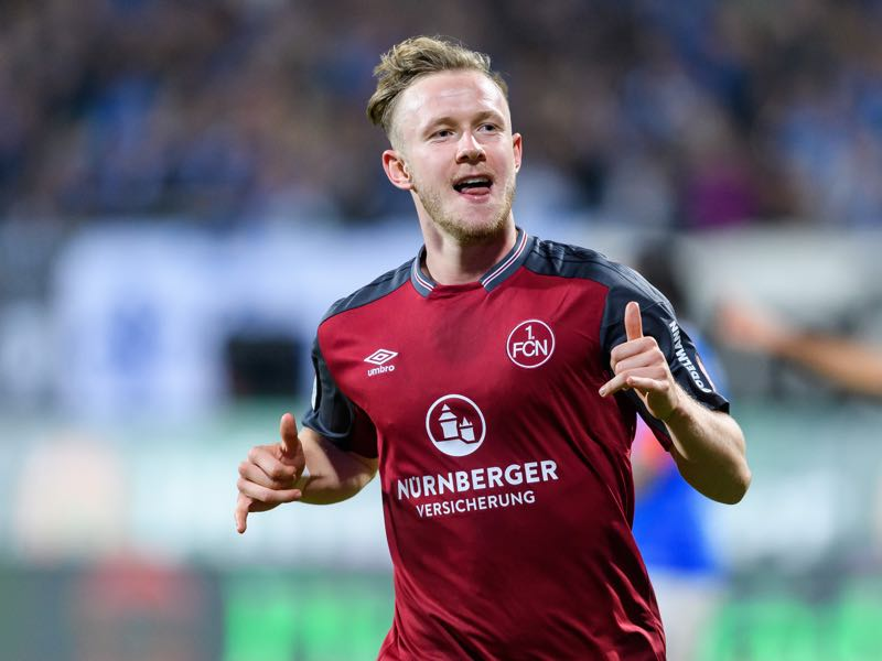 Cedric Teuchert joins previous 1.FC Nürnberg signings Burgstaller and Schöpf at Schalke 04. (Photo by Alexander Scheuber/Bongarts/Getty Images)