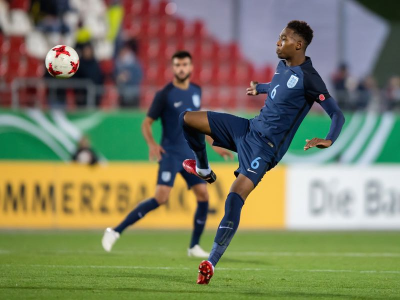 Reece Oxford is part of a wave of English talent flooding into the Bundesliga at the moment. (Photo by Thomas Eisenhuth/Bongarts/Getty Images)