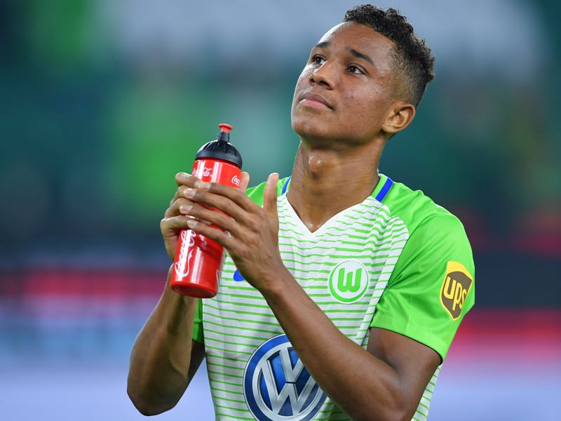 Felix Uduokhai has been excellent for Wolfsburg this season. (Photo by Stuart Franklin/Bongarts/Getty Images)