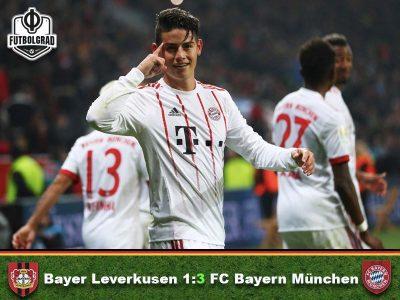 Bayer Leverkusen v Bayern München – Match Report