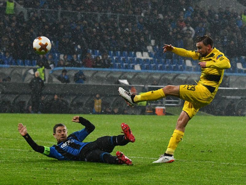 Atalanta vs Dortmund - Marcel Schmelzer was the difference maker on both ends of the pitch. (VINCENZO PINTO/AFP/Getty Images)