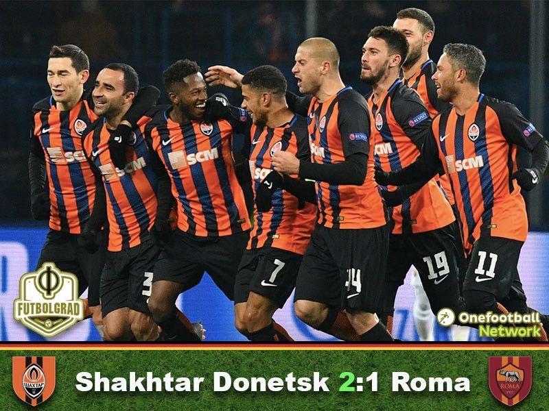 Shakhtar Donetsk vs Roma – Champions League – Match Report
