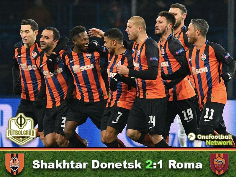 Shakhtar Donetsk vs Roma – Champions League – Match Report