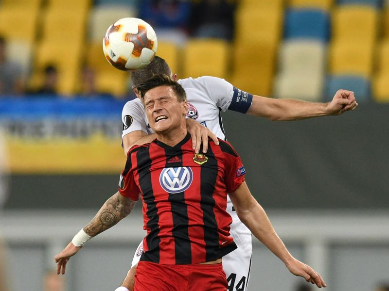 Jamie Hopcutt is Östersunds FK's player to watch. (GENYA SAVILOV/AFP/Getty Images)
