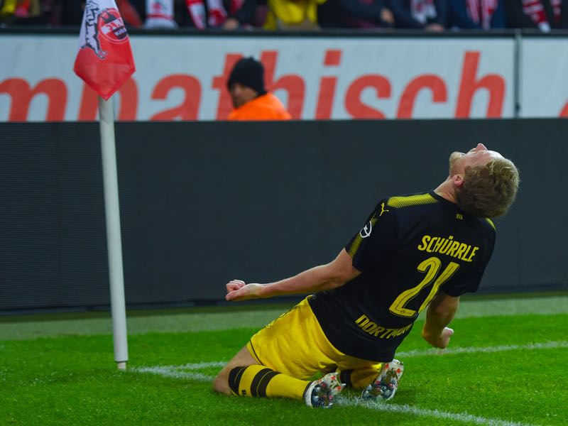 André Schürrle scored the game winner against Köln. (PATRIK STOLLARZ/AFP/Getty Images)