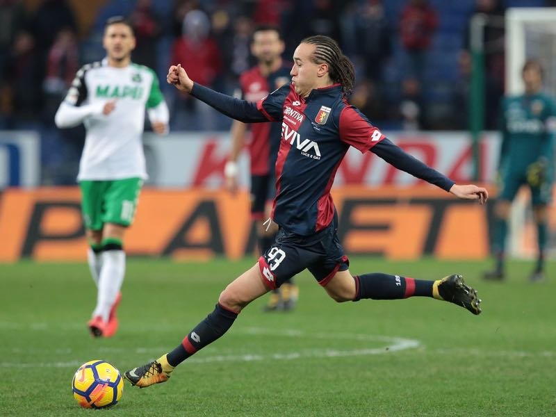 Diego Laxalt has made great progression while playing for Genoa. (Photo by Emilio Andreoli/Getty Images)