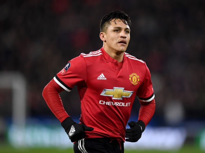 Alexis Sanchez joined Manchester United this winter and will be the club's key player in the game against Sevilla. (Photo by Gareth Copley/Getty Images)