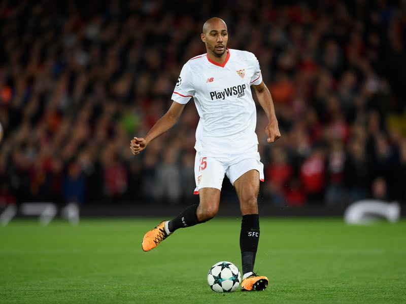 French national team player Steven N'Zonzi will be crucial for Sevilla against Manchester United. (Photo by Stu Forster/Getty Images)