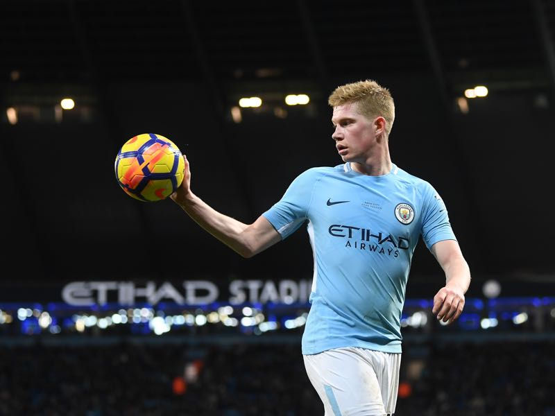 Kevin de Bruyne might be the most complete player in the English Premier League at the moment. (Photo by Michael Regan/Getty Images)