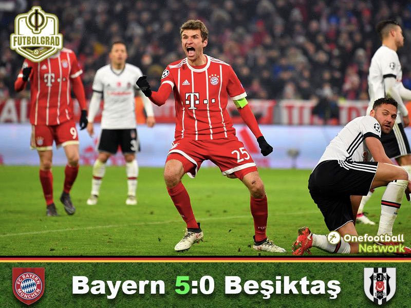 Bayern vs Besiktas – Champions League – Match Report
