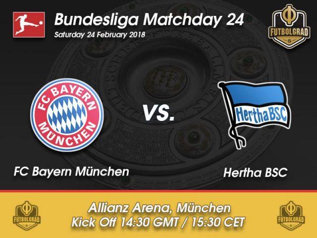 Bayern vs Hertha – Bundesliga – Preview