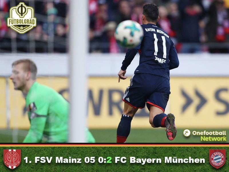 1.FSV Mainz vs Bayern – Match Report