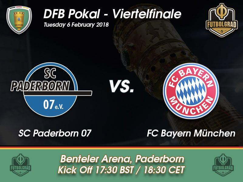 Paderborn vs Bayern München – DFB Pokal – Preview