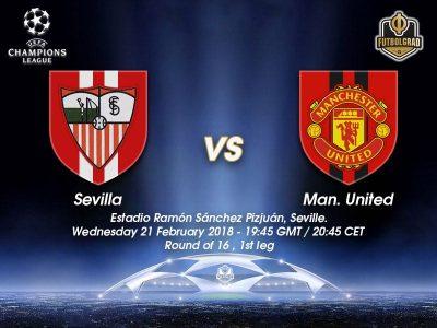 Sevilla vs Manchester United – Champions League – Preview
