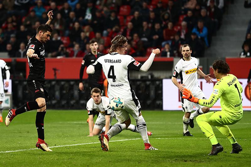 Bayer Leverkusen vs Gladbach