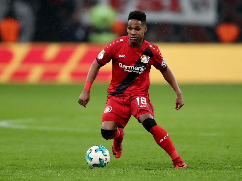 Bayer Leverkusen's Wendell has an eye on the 2018 FIFA World Cup. (Photo by Christof Koepsel/Bongarts/Getty Images)