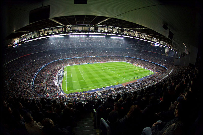 Barcelona vs Manchester United will take place at the Camp Nou in Barcelona.