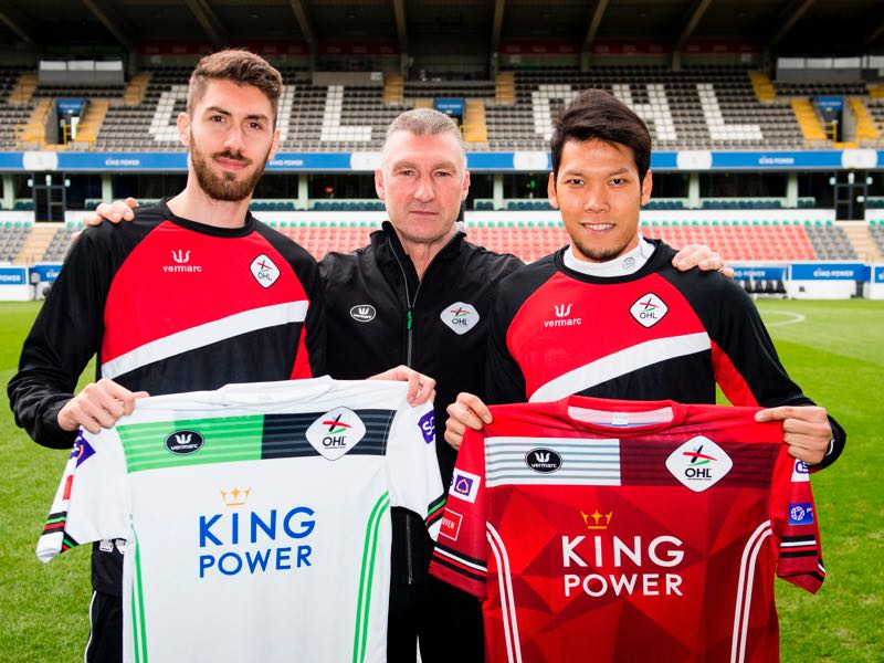 OH Leuven are owned by King Power International, which also owns Leicester City. JASPER JACOBS/AFP/Getty Images)