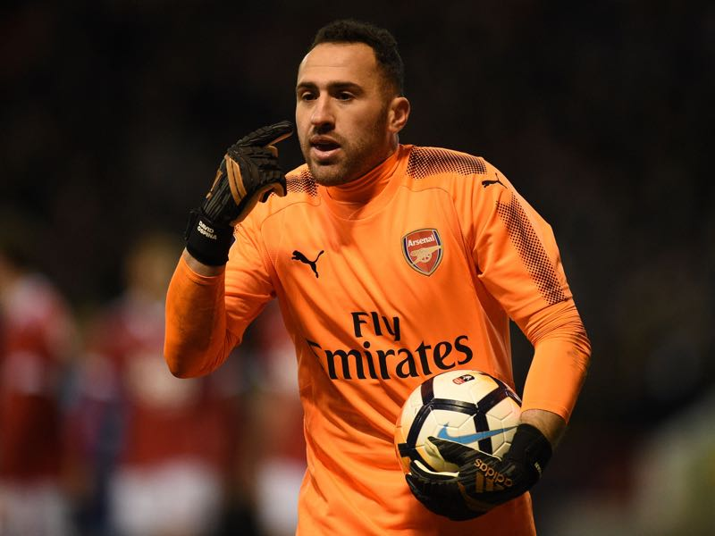David Ospina is Arsena's cup keeper. (OLI SCARFF/AFP/Getty Images)