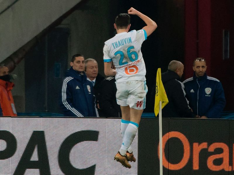 Florian Thauvin has been phenomenal this season. (BERTRAND LANGLOIS/AFP/Getty Images)