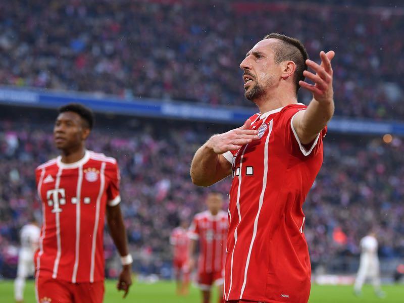 Bayern vs Hamburg - Frank Ribéry was the Futbolgrad Network player of the match. (Photo by Sebastian Widmann/Bongarts/Getty Images)
