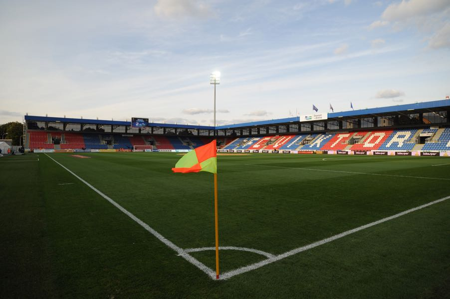 Viktoria Plzen vs Sporting will take place at the Štruncovy Sady Stadion in Plzen. (Photo by Michal Cizek/EuroFootball/Getty Images)