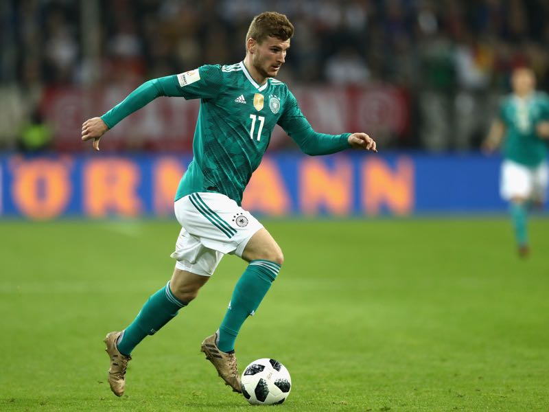 Germany v Spain - Timo Werner was excellent against Spain. (Photo by Lars Baron/Bongarts/Getty Images)