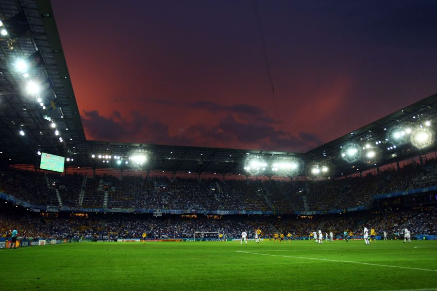 Salzburg vs Napoli will take place at the Salzburg Stadion. (Photo by Martin Rose/Bongarts/Getty Images)