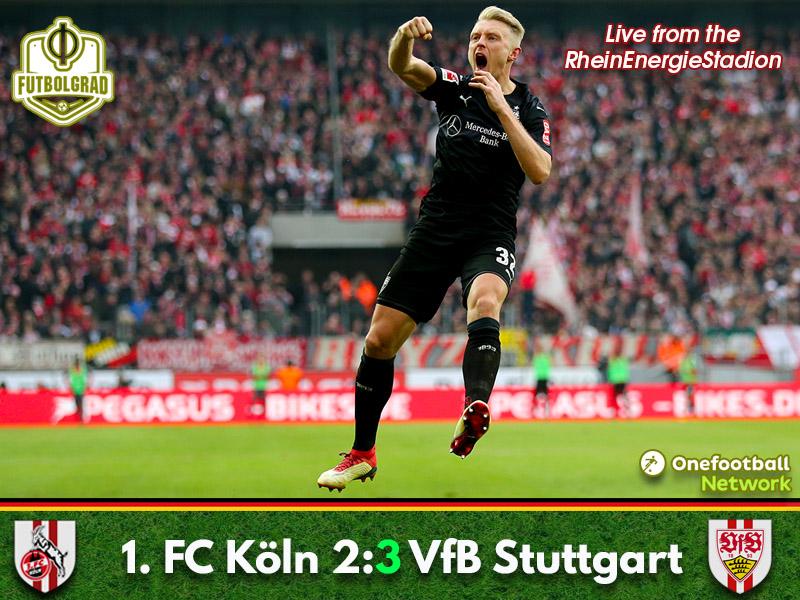 Köln vs VfB Stuttgart – Bundesliga – Match Report