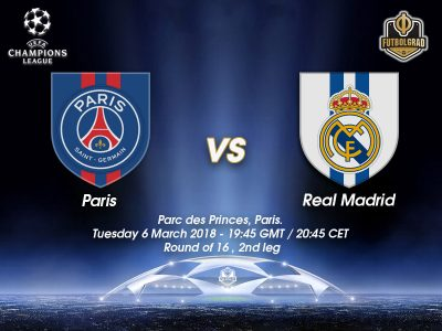 Paris Saint-Germain vs Real Madrid – Champions League – Preview