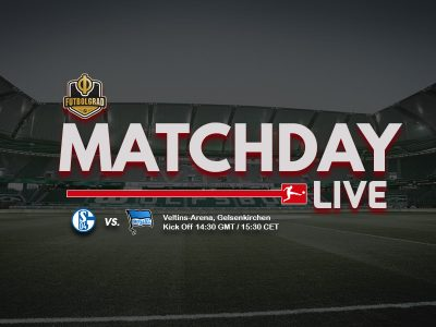 Schalke vs Hertha – Bundesliga LIVE