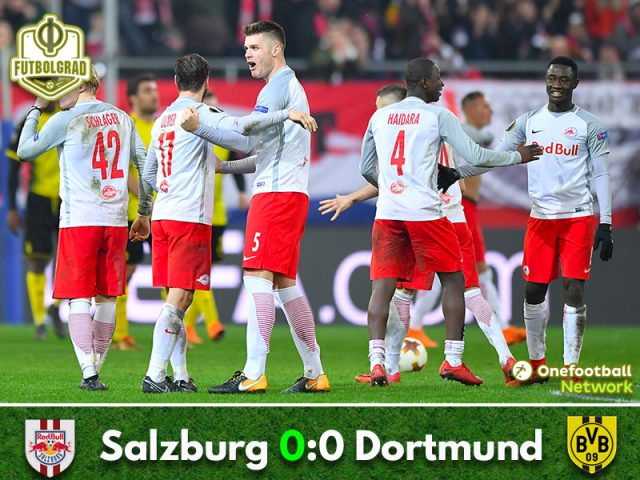 Salzburg vs Dortmund – Europa League – Match Report