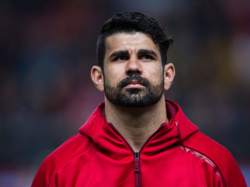 Diego Costa could benefit from Spain playing once again with a central forward. (Photo by Juan Manuel Serrano Arce/Getty Images)