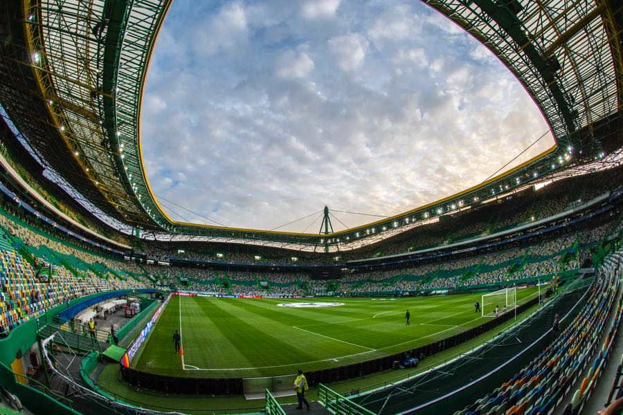 Sporting vs Plzen will take place at the Estádio José Alvalade in Lisbon. (Photo by Octavio Passos/Getty Images)