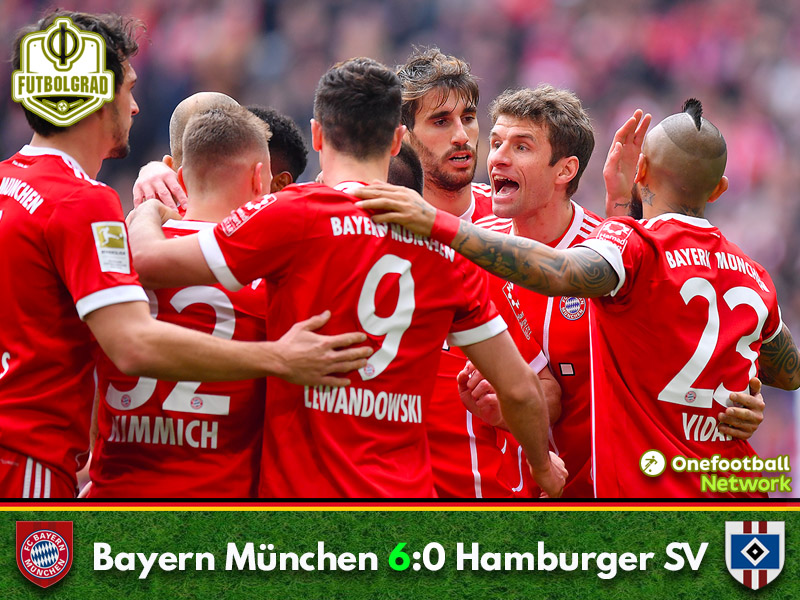 Bayern vs Hamburg – Bundesliga – Match Report