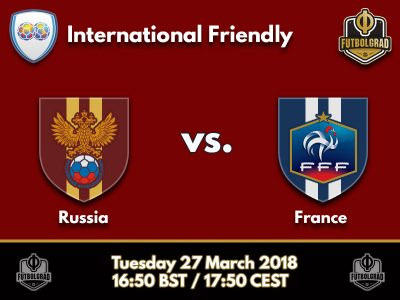 Russia vs France – International Friendly – Preview