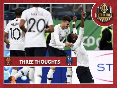 Three thoughts from Russia's friendlies against Brazil and Franc