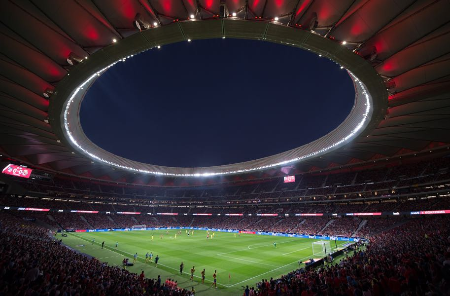 Atletico Madrid vs Juventus will take place at the Wanda Metropolitano. (Photo by Denis Doyle/Getty Images)