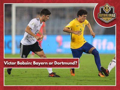 Bayern and Dortmund to battle over Brazilian starlet Victor Bobsin?