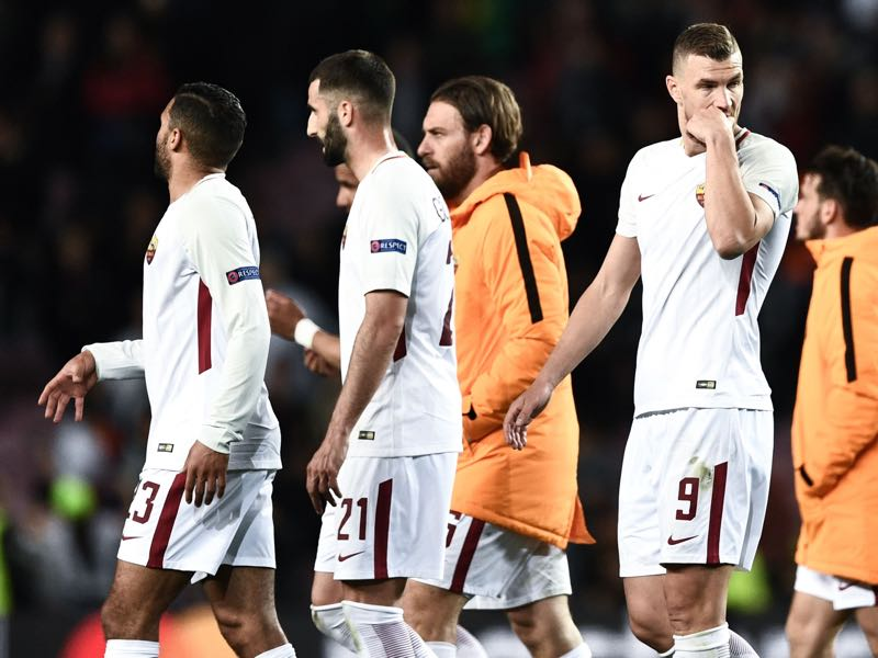 Despite the defeat Roma have a bright future ahead of them. FILIPPO MONTEFORTE/AFP/Getty Images)