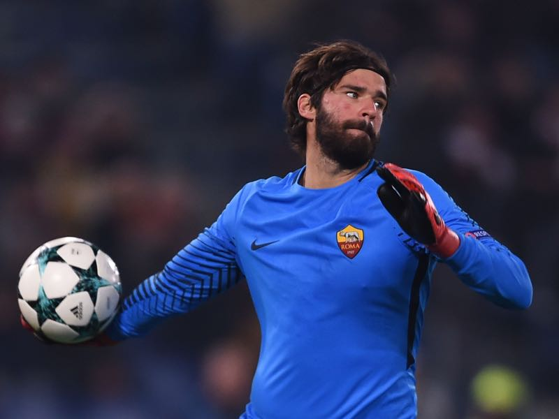 Alisson was added early on this transfer window by Liverpool. (FILIPPO MONTEFORTE/AFP/Getty Images)